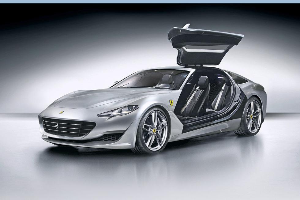Ferrari GTC4 Lusso II. En 2018. La próxima generación de su Gran Turismo.