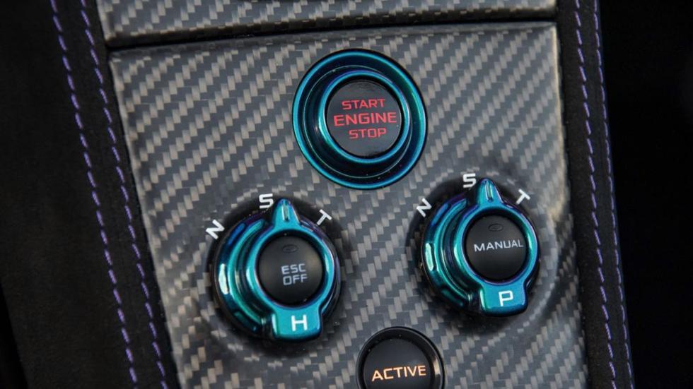 McLaren 675LT Spider botones