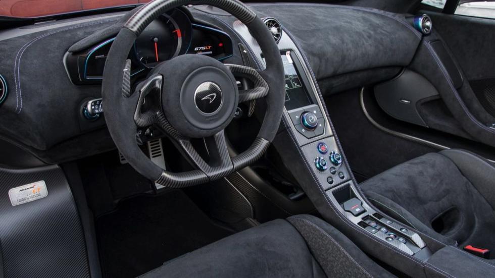 McLaren 675LT Spider volante