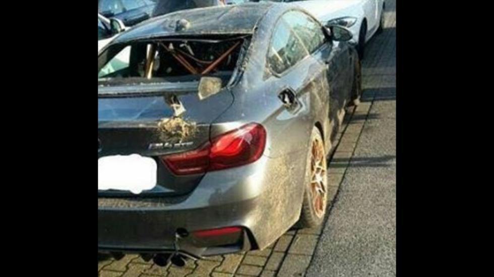 Accidente BMW M4 GTS