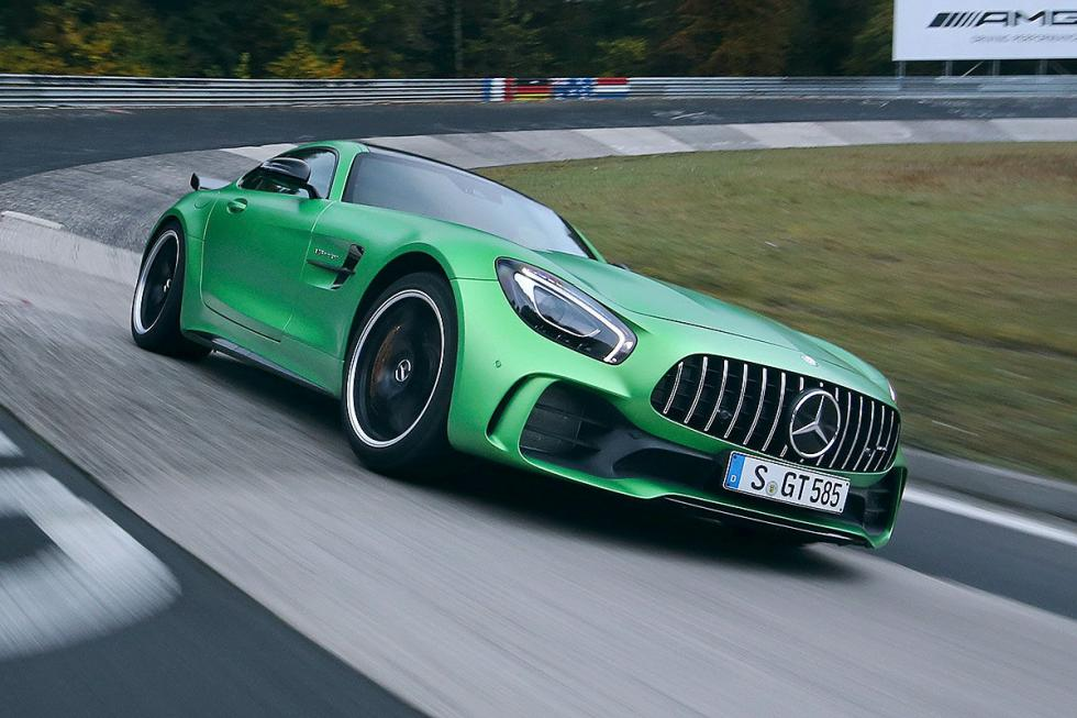 Frontal Mercedes-AMG GT R