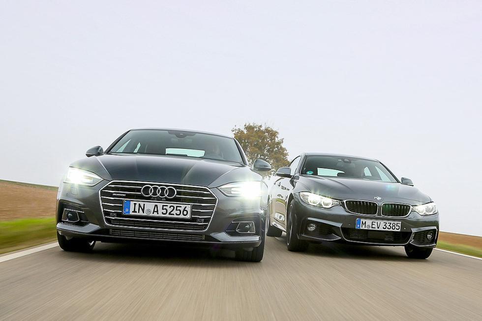 Cara a cara: Audi A5 Sportback vs BMW Serie 4 Gran Coupé