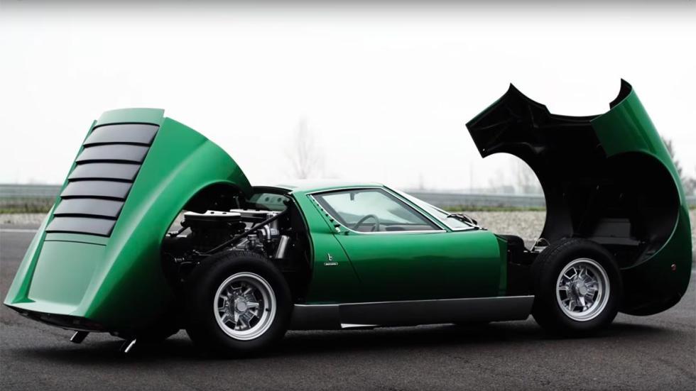 Lamborghini Miura P400 SV Polo Storico capo