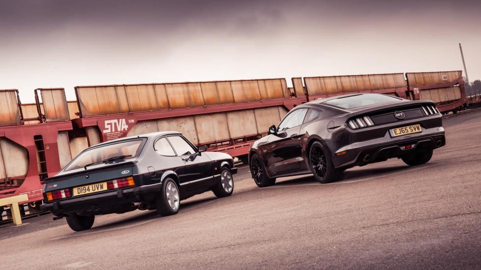 Ford Mustang vs. Ford Capri (V)
