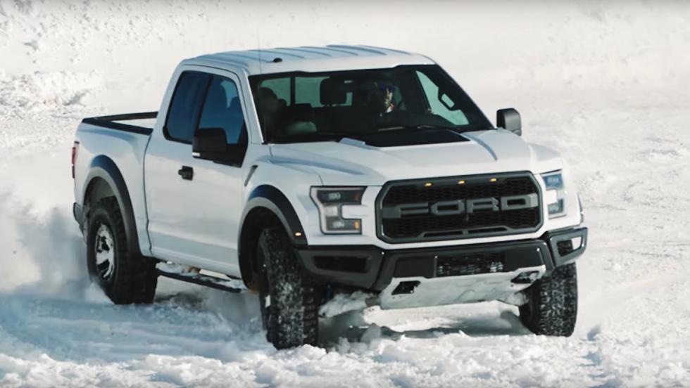 El invierno ha llegado: lo dice Ken Block con un Ford F-150 Raptor