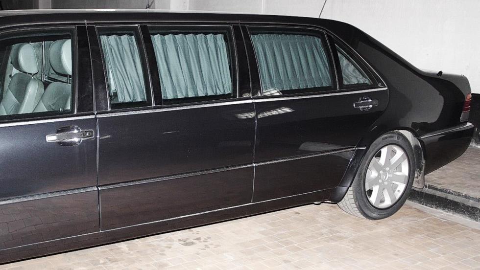 El Mercedes-Benz S600 Pullman de Vladimir Putin