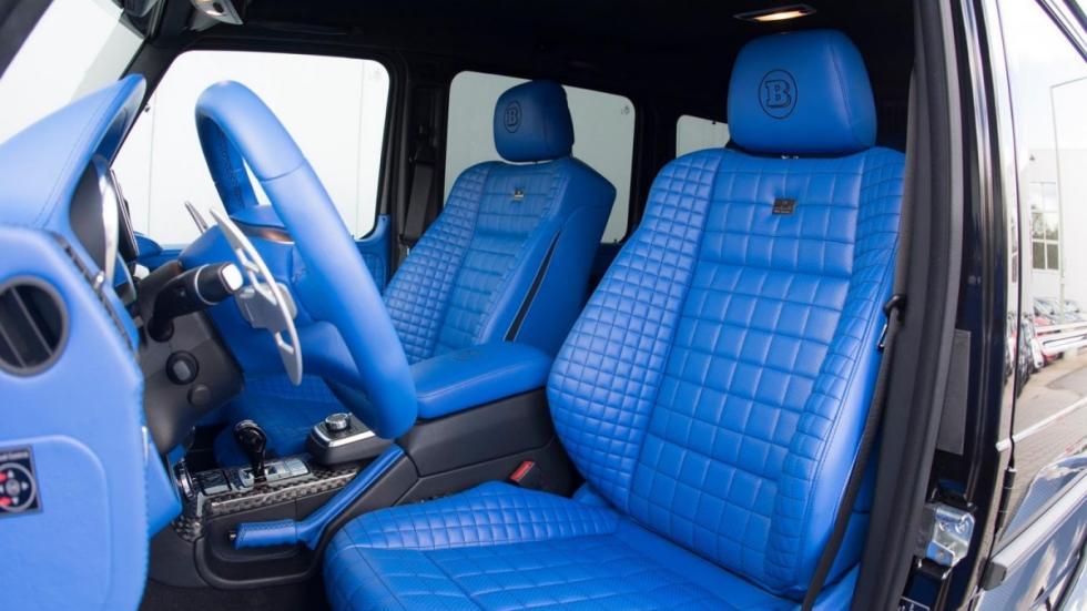 Brabus Mercedes G500 4x4²