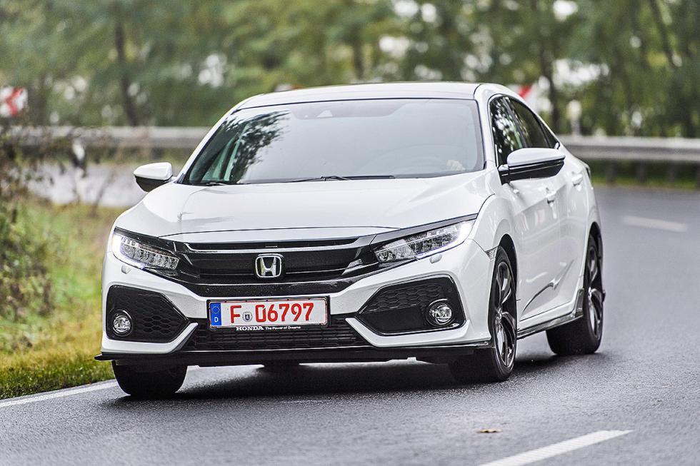 ¡Lo probamos! Nuevo Honda Civic 5 puertas (2017)