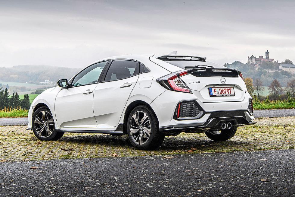 Galería: prueba nuevo Honda Civic 2017