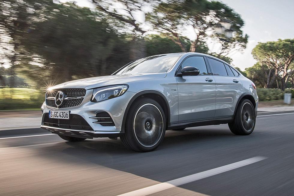 Prueba: Mercedes-AMG GLC 43 Coupé