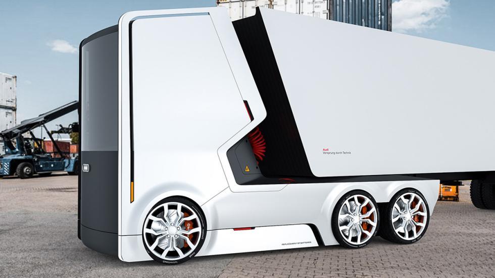 Camión eléctrico de Audi