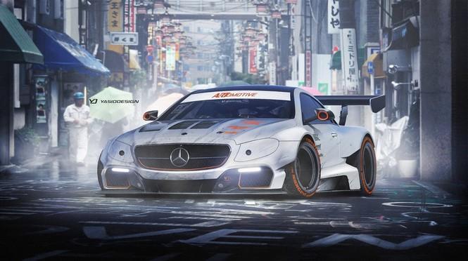 Mercedes Clase E Coupé by Yasid Design y HPF