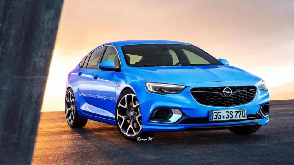 Render Opel Insignia Grand Sport OPC