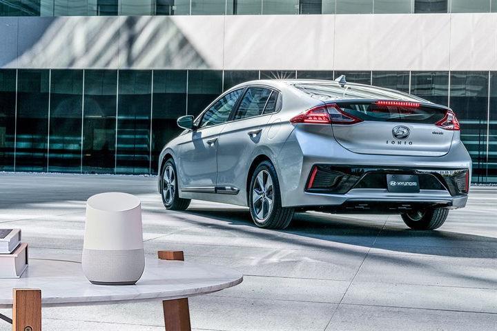Google Auxiliar y Hyundai, en el CES Las Vegas 2017