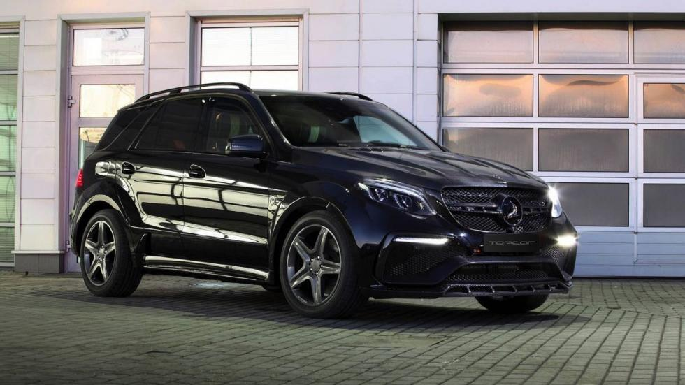 Mercedes GLE Guard Inferno Package