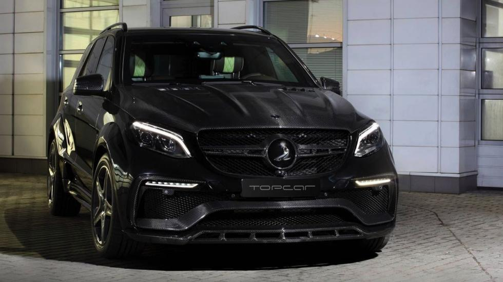Mercedes GLE Guard Inferno Package frontal