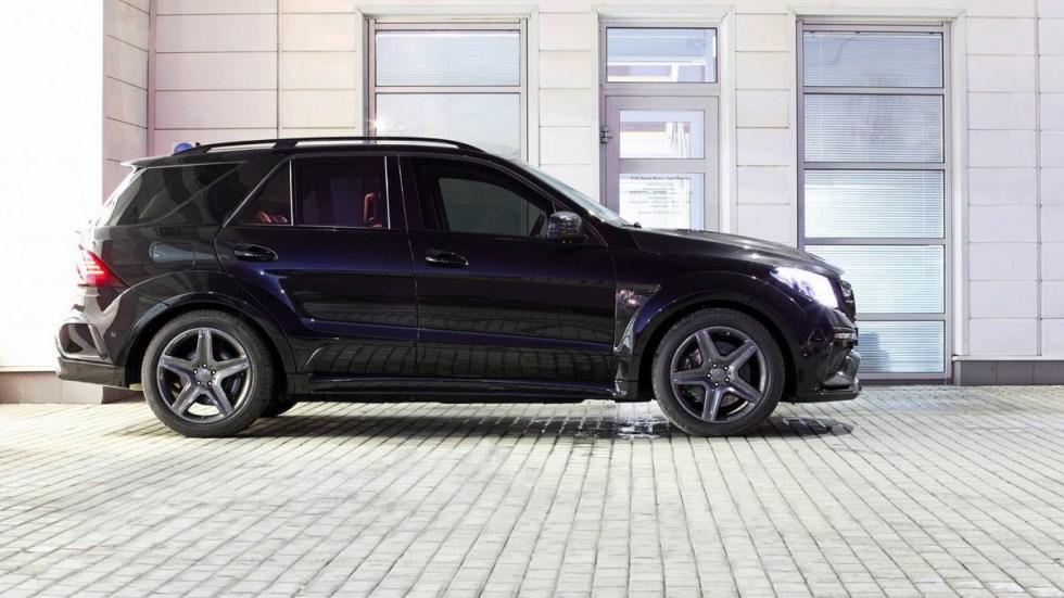 Mercedes GLE Guard Inferno Package lateral