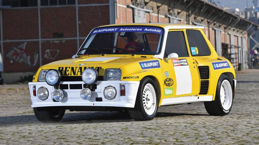 Renault 5 Turbo Grupo B morro