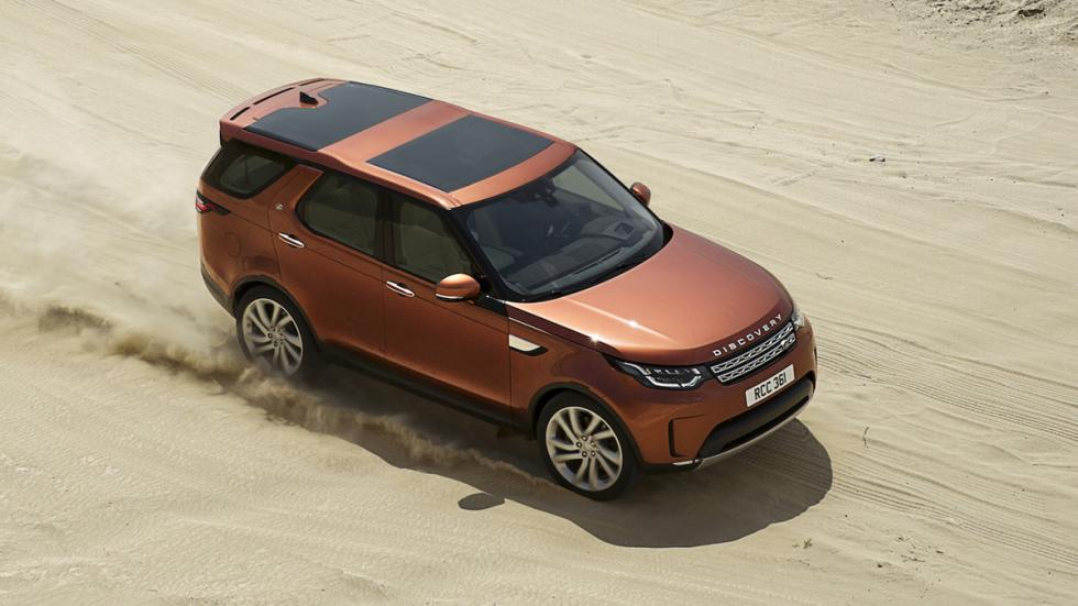 mejores SUV 2017 Land Rover Discovery