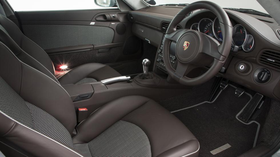 venta Porsche 911 Sport Classic habitáculo