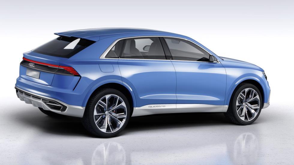 Audi Q8 Concept  trasera