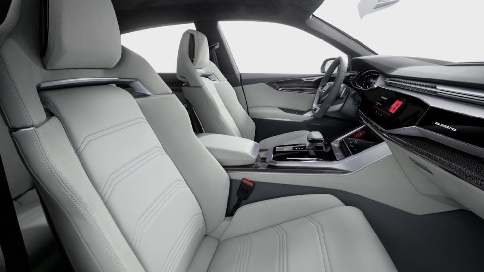Audi Q8 Concept  interior asientos delanteros