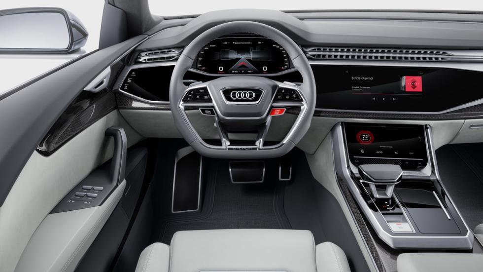 Audi Q8 Concept  salpicadero