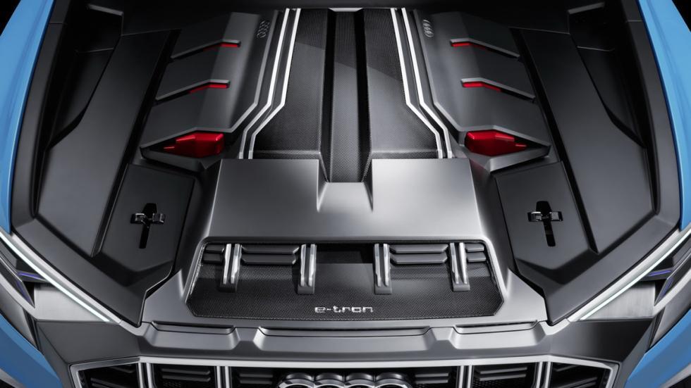 Audi Q8 Concept  detalle motor