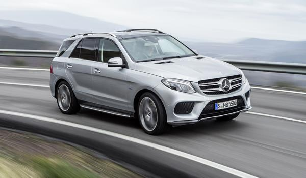 SUV menos consumen 2017 Mercedes GLE 500 e