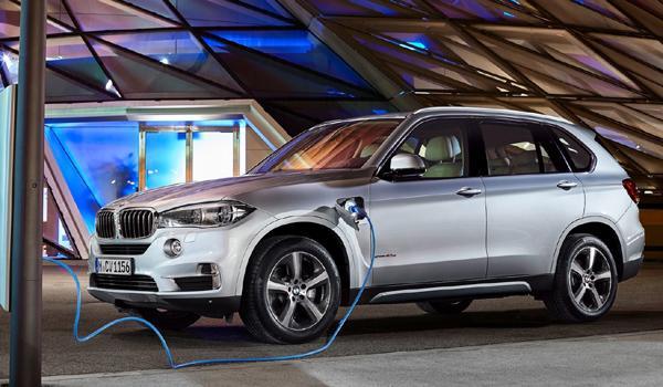 SUV menos consumen 2017 BMW X5 xDrive40e