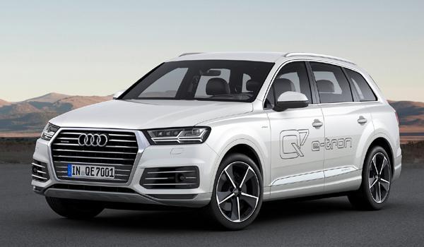 SUV menos consumen 2017 Audi Q7 3.0 TDI e-Tron