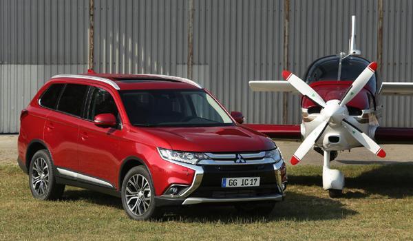 SUV menos consumen 2017 Mitsubishi Outlander PHEV