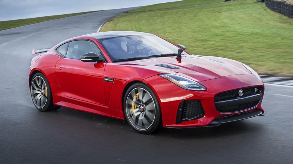 Jaguar F-Type 2017 tres cuartos frontal