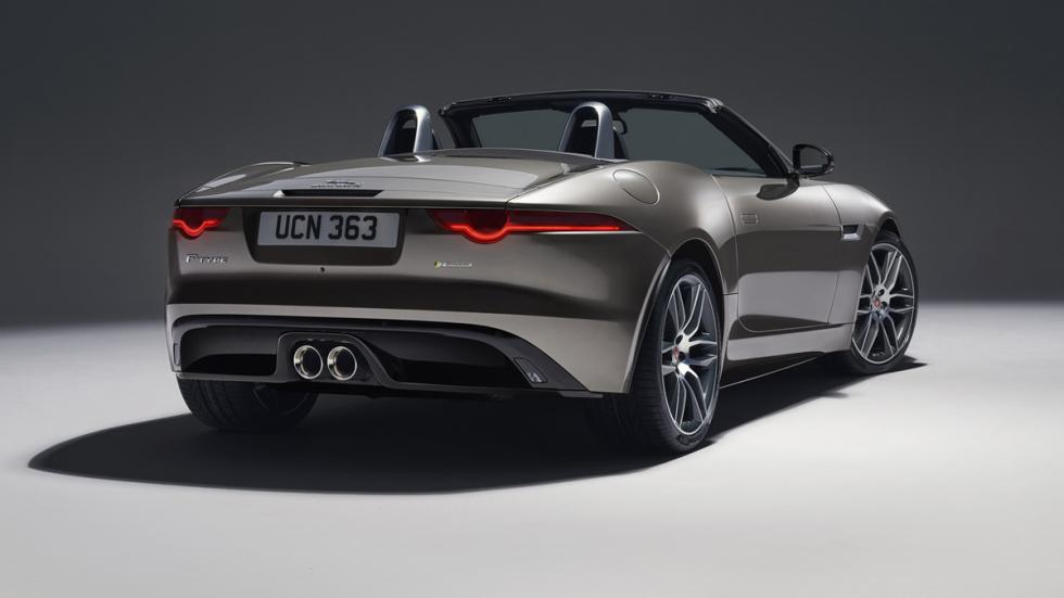 Jaguar F-Type 2017 zaga