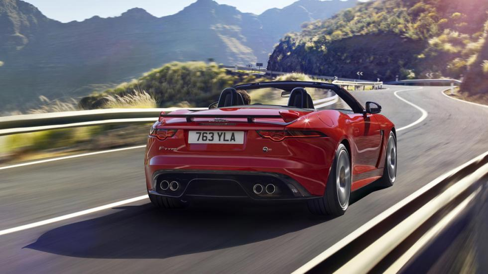 Jaguar F-Type 2017 trasera