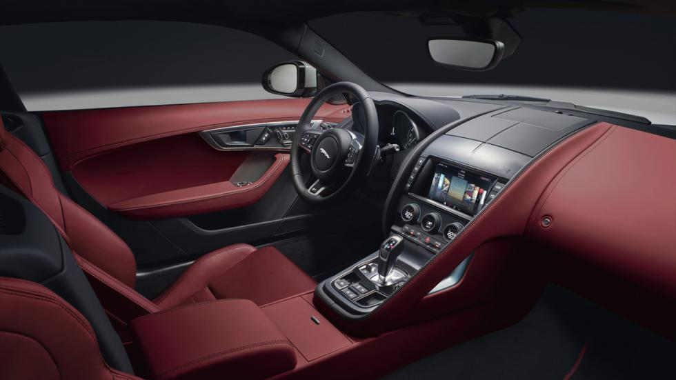 Jaguar F-Type 2017 interior