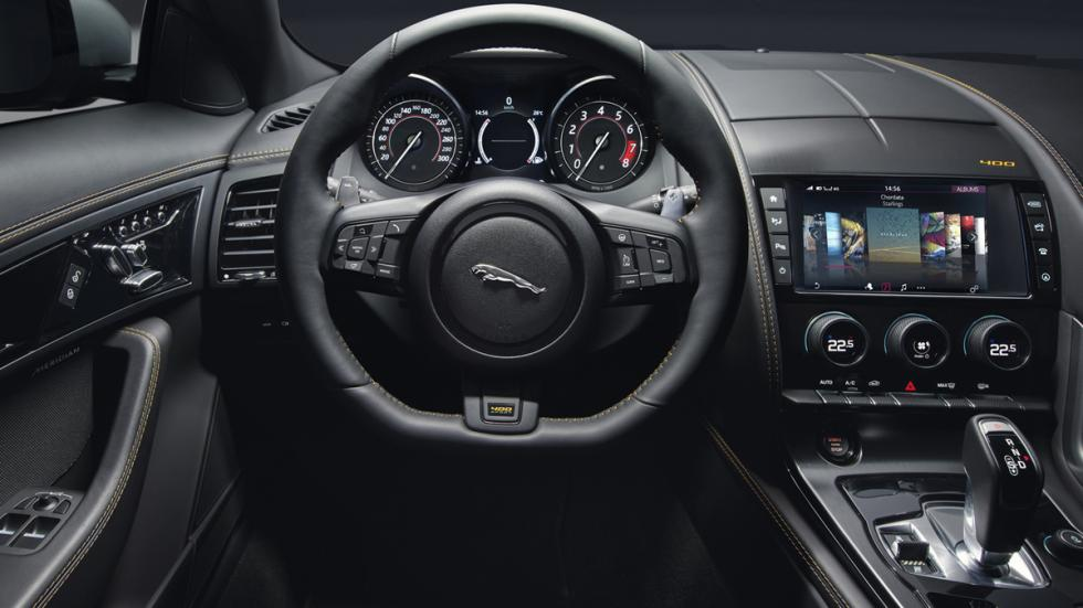 Jaguar F-Type 2017 salpicadero