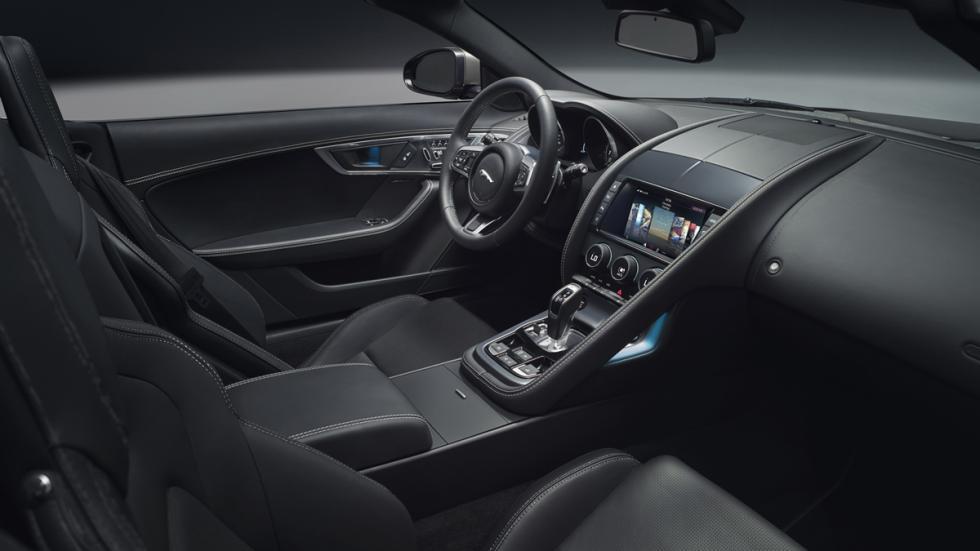 Jaguar F-Type 2017 panorámica salpicadero