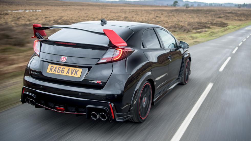 Honda Civic Type R Black Edition zaga
