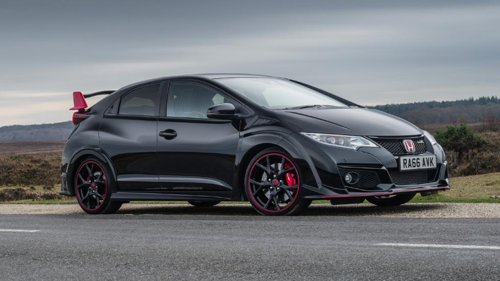 Honda Civic Type R Black Edition lateral