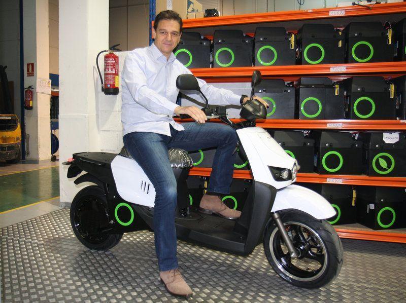 Scutum, líder en venta de motos eléctricas en España