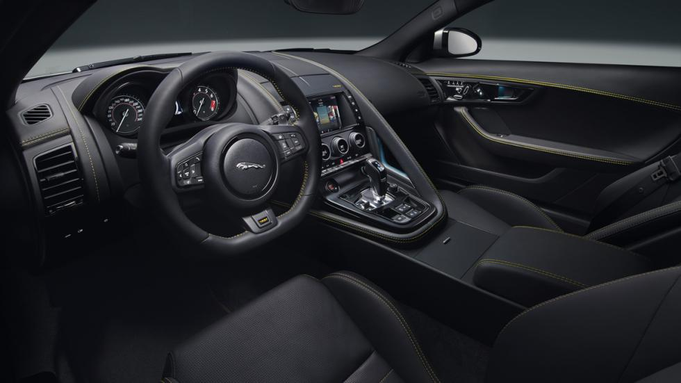 Jaguar F-Type 400 Sport interior