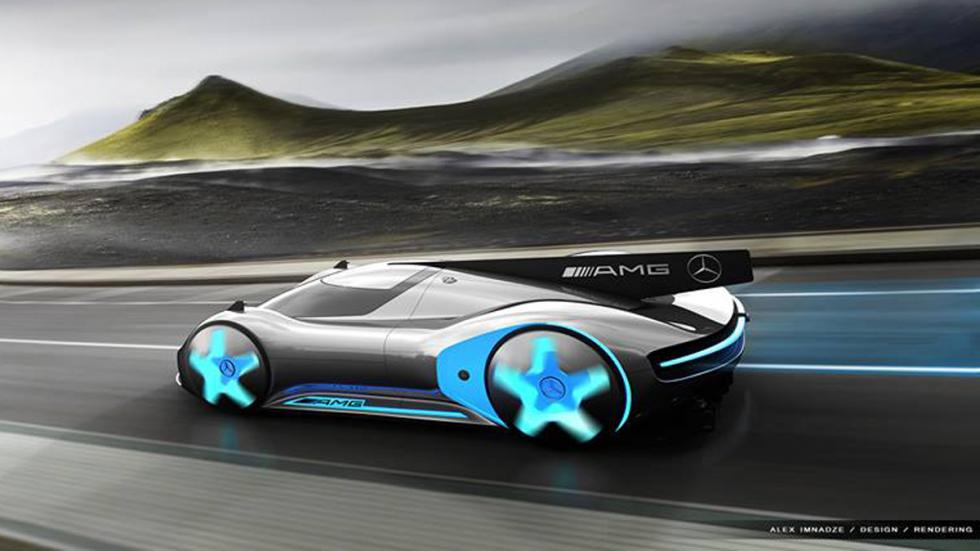 nuevo superdeportivo de Mercedes zaga