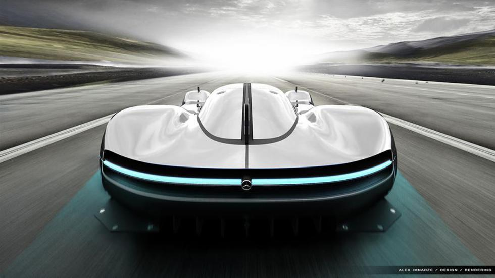 nuevo superdeportivo de Mercedes culo