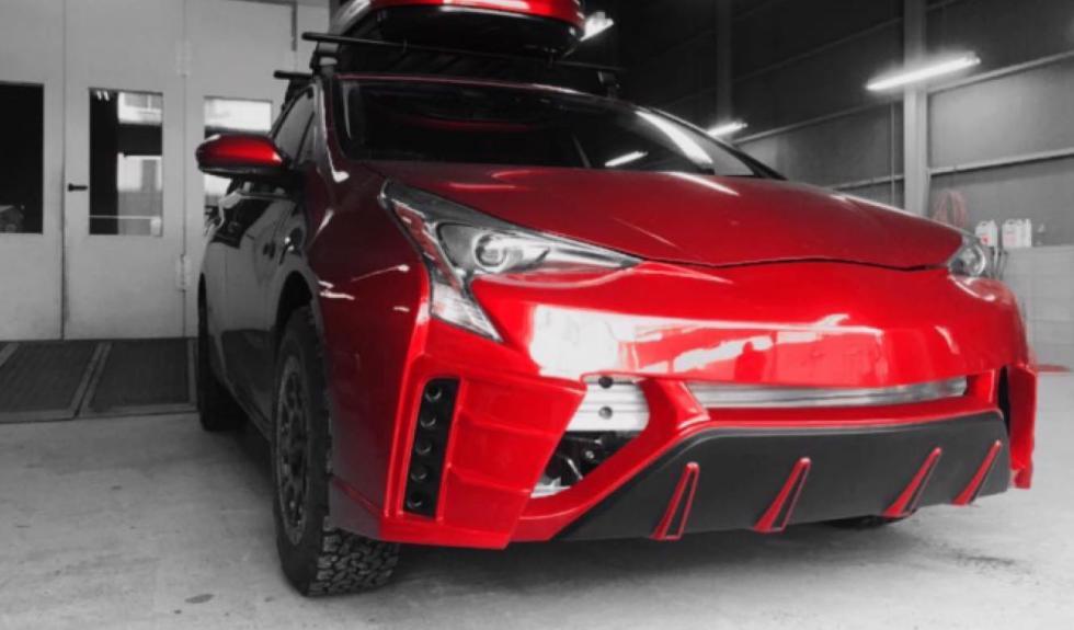 Toyota Prius-X frontal 1