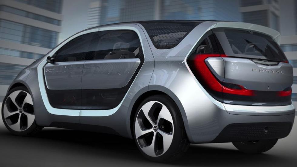 Chrysler Portal concept trasera