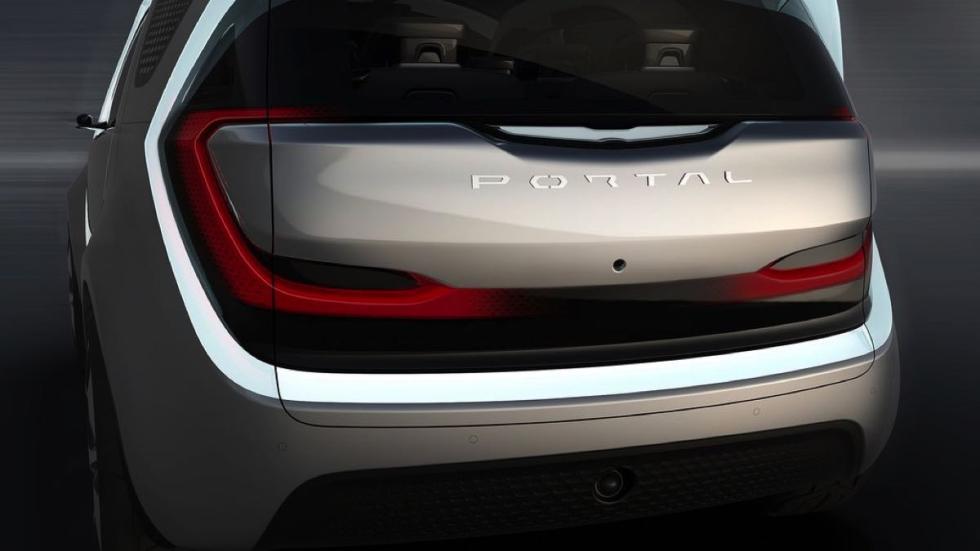Chrysler Portal concept trasera 2