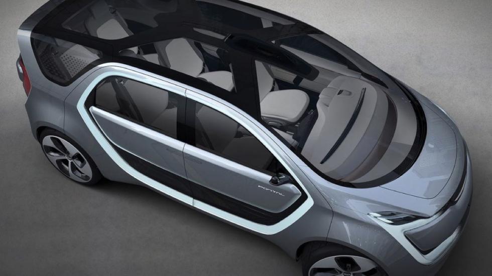 Chrysler Portal concept techo