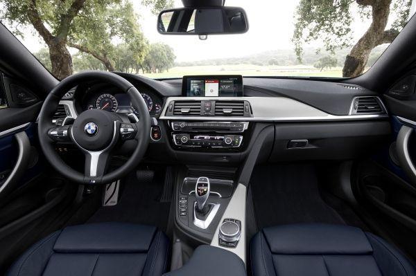Nuevo BMW Serie 4 2017, interior