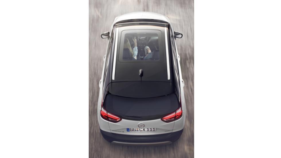 Opel Crossland X techo